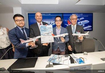 Goshawk Aviation A320neo firm order Farnborough