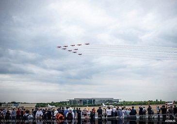 RAF 100 flight display - FIA2018 - Day 05