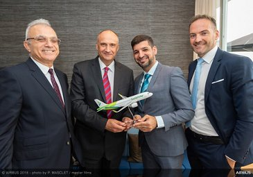 SalamAir A320neo agreement Farnborough