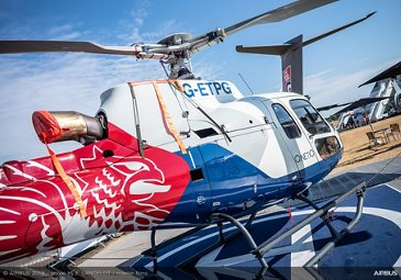 H125 Static Display Ambiance - FIA 2018 - Day 01