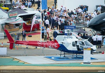 H125 Static Display Ambiance - FIA2018 - Day 02