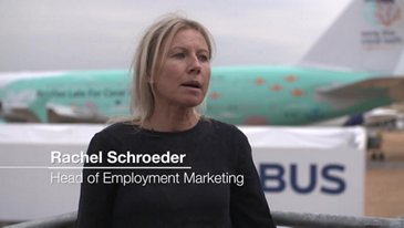 Farnborough Airshow 2018 - Airbus employment outreach