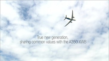 2018 Farnborough Airshow 鈥� A330neo flight demonstration