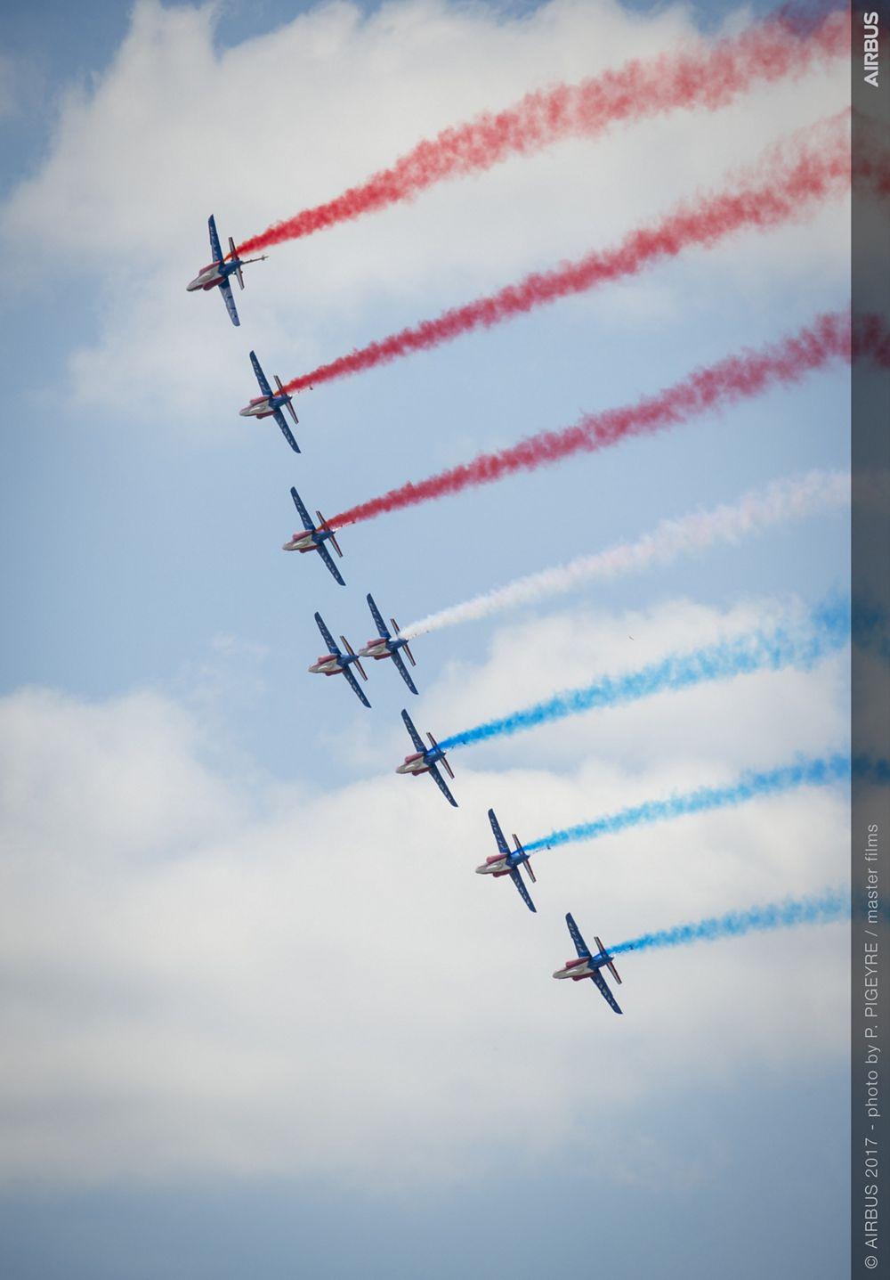 French Aerobatics Flying Display - 24 June PAS 2017