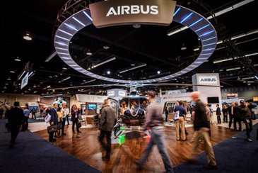 Airbus Heli Expo 2020 Booth