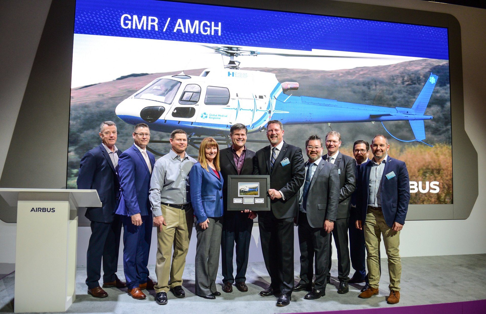 Longstanding Airbus Helicopters customer Air Medical Group Holdings (AMGH) will add a total of 21 helicopters to its fleet for air medical transport missions, announced at the Heli-Expo 2019 trade show in Atlanta.