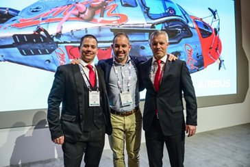 AG真人计划 and Swiss Rotor Solutions promoting use of Maximum Pilot View Kit on H125/AS350 helicopters