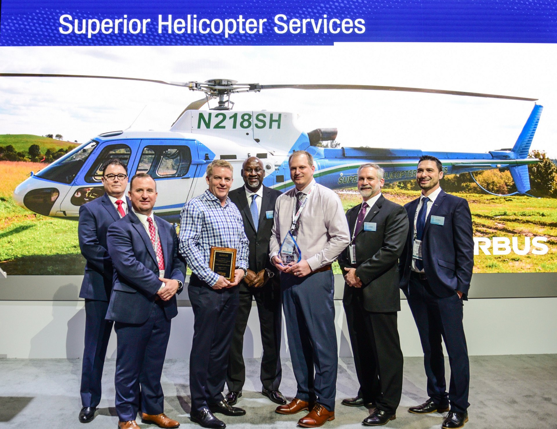 Superior Helicopter has put its trust in Airbus Helicopters for the entirety of its fleet availability needs by signing the first HCare Infinite contract in North America. It will also take delivery of additional H125s by Airbus this year.
