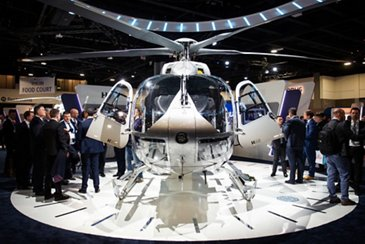 The new H145 at HAI Heli-Expo 2019