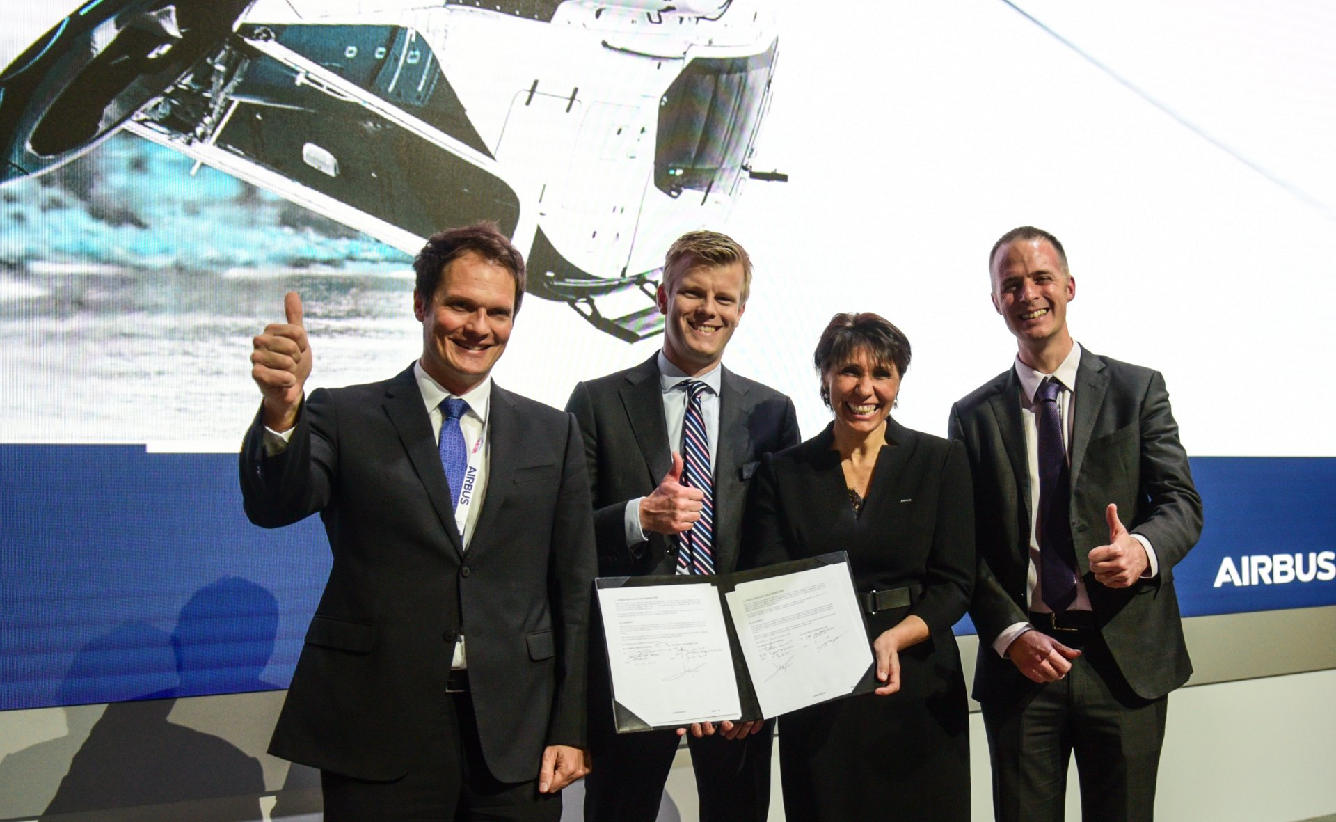 Airbus Helicopters has signed a letter of intent (LOI) with SKYTRAC that will enable helicopters equipped with SKYTRAC real-time data processing and communications hardware to transmit their aircraft and flight data directly to servers on the ground, ensuring the continuous flow of data from the air to the ground for analysis.