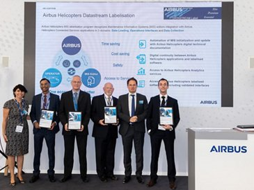 MRO software providers MRX Systems, Rusada, Ramco and Traxxall team up with Airbus Helicopters to exchange maintenance data digitally