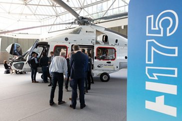 Heliholland's H175 at Helitech International 2018