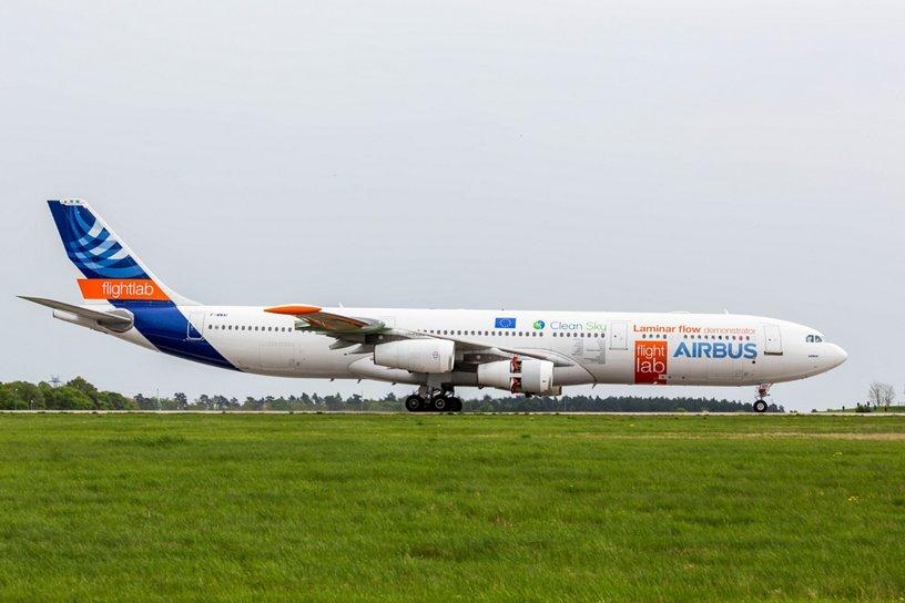 A340 BLADE landing at ILA 2018