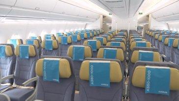 Singapore Airshow 2018 - Francois Obé presents the A350-1000 cabin