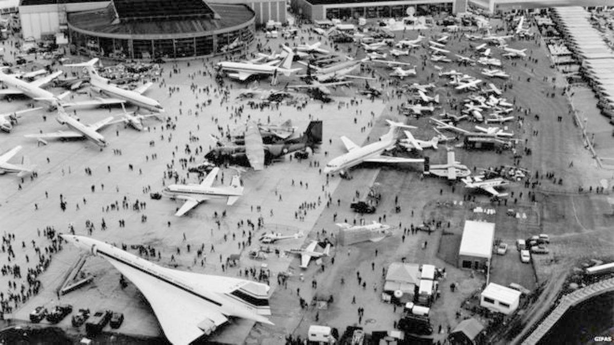 The Paris Air Show in 1969