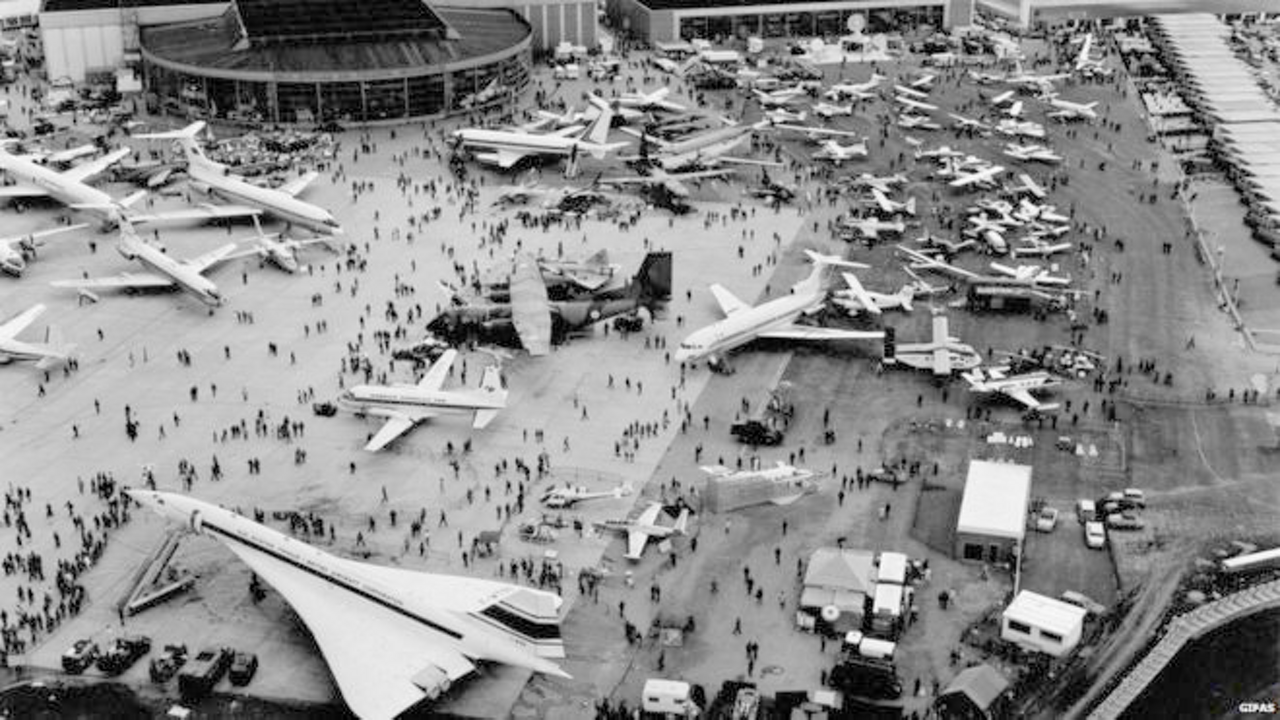 The Paris Air Show in 1969.