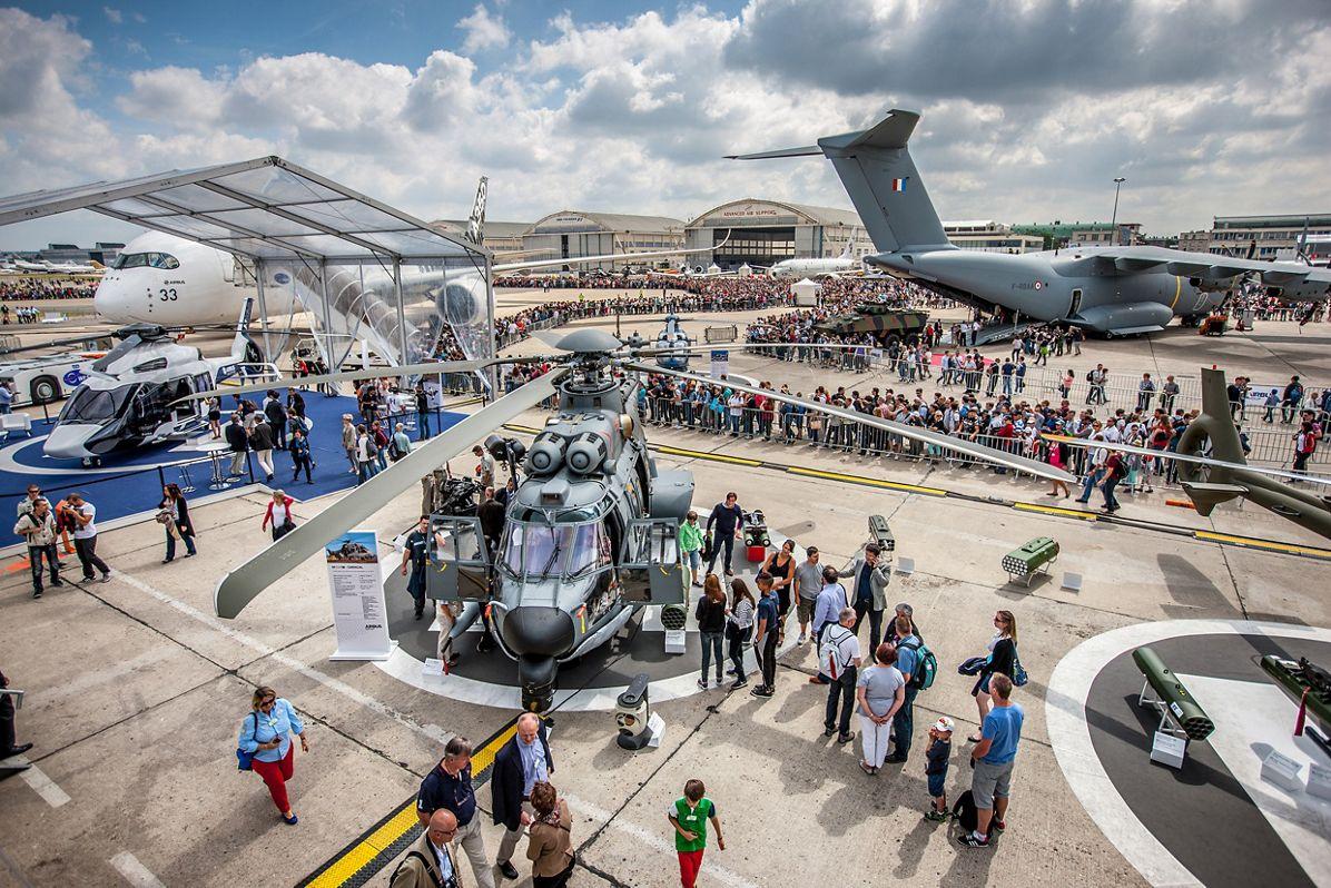 Paris Le Bourget air show 2015, Paris Air Show static display