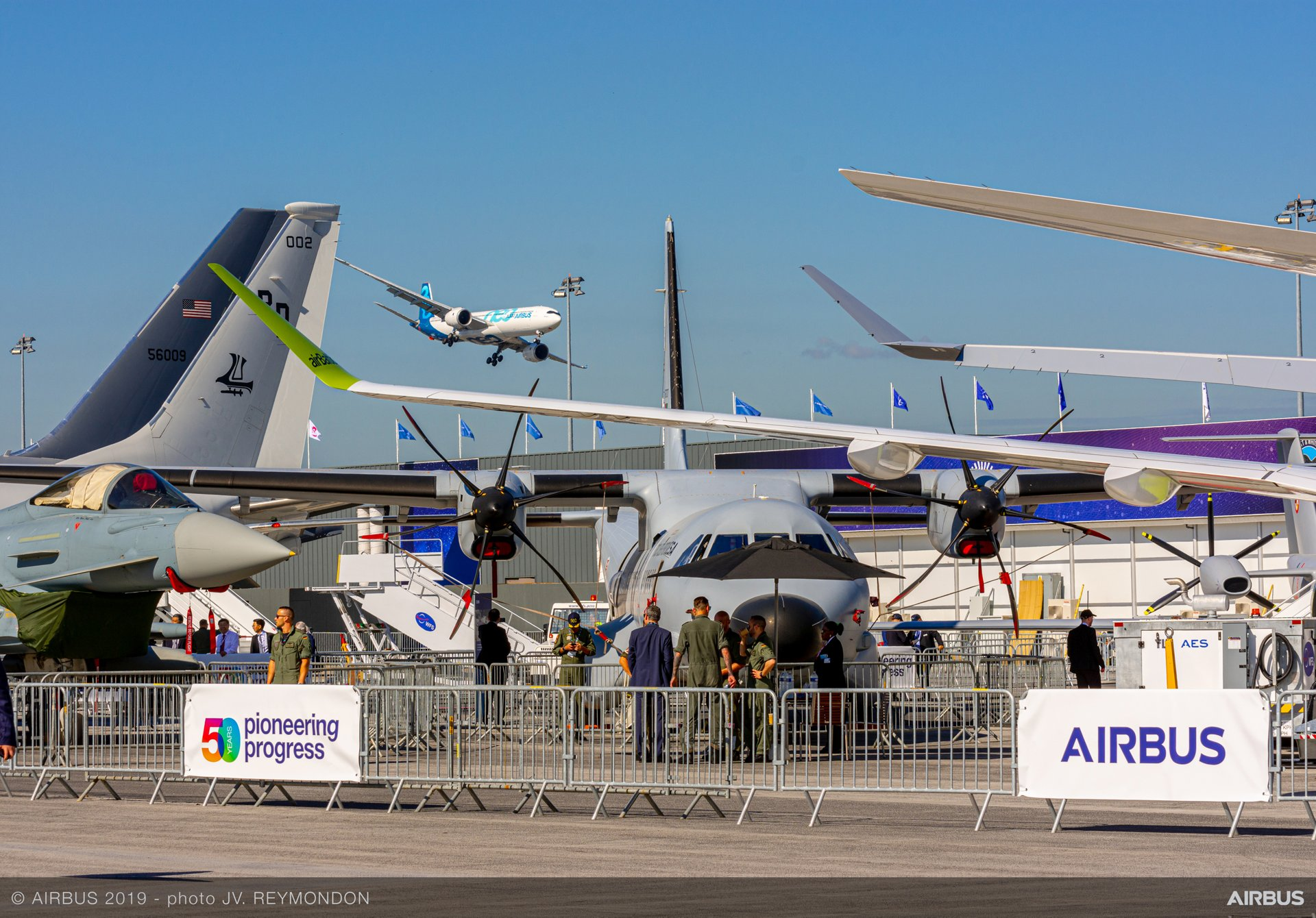 PAS2019 A330-900 Flying Display - Day 1  Airbus A330neo wide-body jetliner demonstrates its capabilities during the flight display at the 2019 Paris Air Show