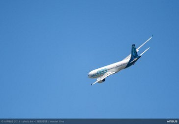 A330-900 Flying Display at Paris Airshow -PAS2019 Day 1
