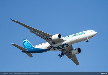 A330-900 Flying Display at Paris Airshow - PAS2019 Day 1
