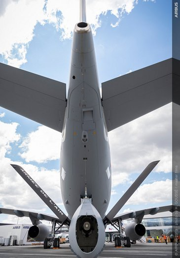 A330 MRTT static display 鈥� Paris Air Show 2019