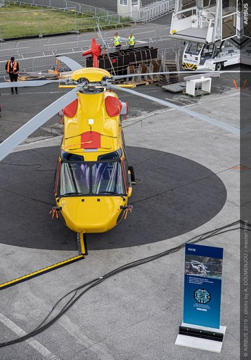 H175 NHV Static display at Paris Air Show 2019 - Day 0