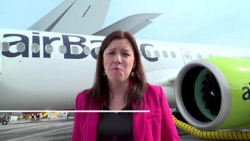 Inside airBaltic's A220-300 – Paris Air Show 2019 – Day 2