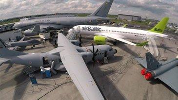 Static planes change at Paris Airshow 2019