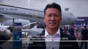 Interview of Dirk Hoke at Paris Airshow 2019