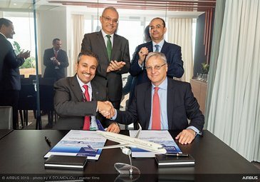 Saudi Arabian Airlines expands A320 – Paris Air Show 2019 – Day 2