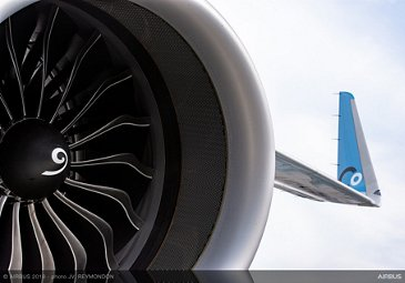 A321neo La Compagnie Static Display - PAS2019 - Day 2