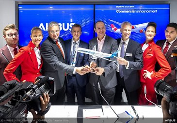 Virgin Atlantic A330-900 announcement – Paris Air Show 2019 – Day 1
