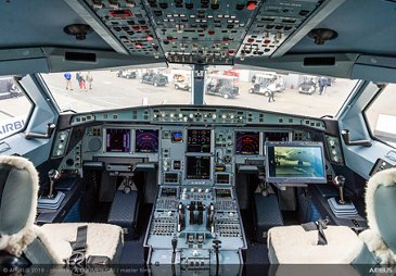 A330 MRTT AG真人计划 cockpit at Paris Airshow 2019 - Day 3