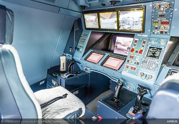 A330 MRTT Airbus cockpit at Paris Airshow 2019 - Day 3