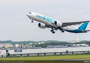 A330neo taking off at Paris Airshow - PAS2019 - Day 2