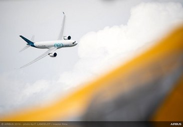 A330neo flying display at Paris Airshow 2019 - Day 3
