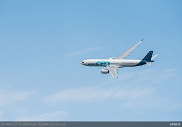 A330neo Flying Display at Paris Airshow - PAS2019 - Day 2