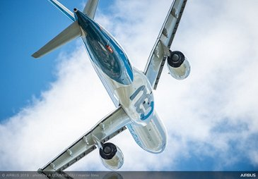 A330neo flying display at Paris Airshow 2019 - PAS2019 Day 5