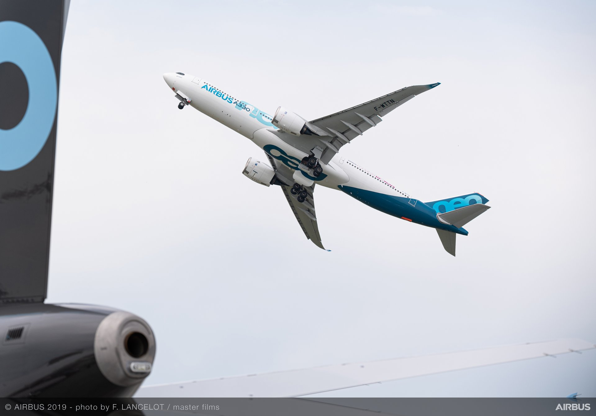 Paris Air Show 2019 static display: A330neo 