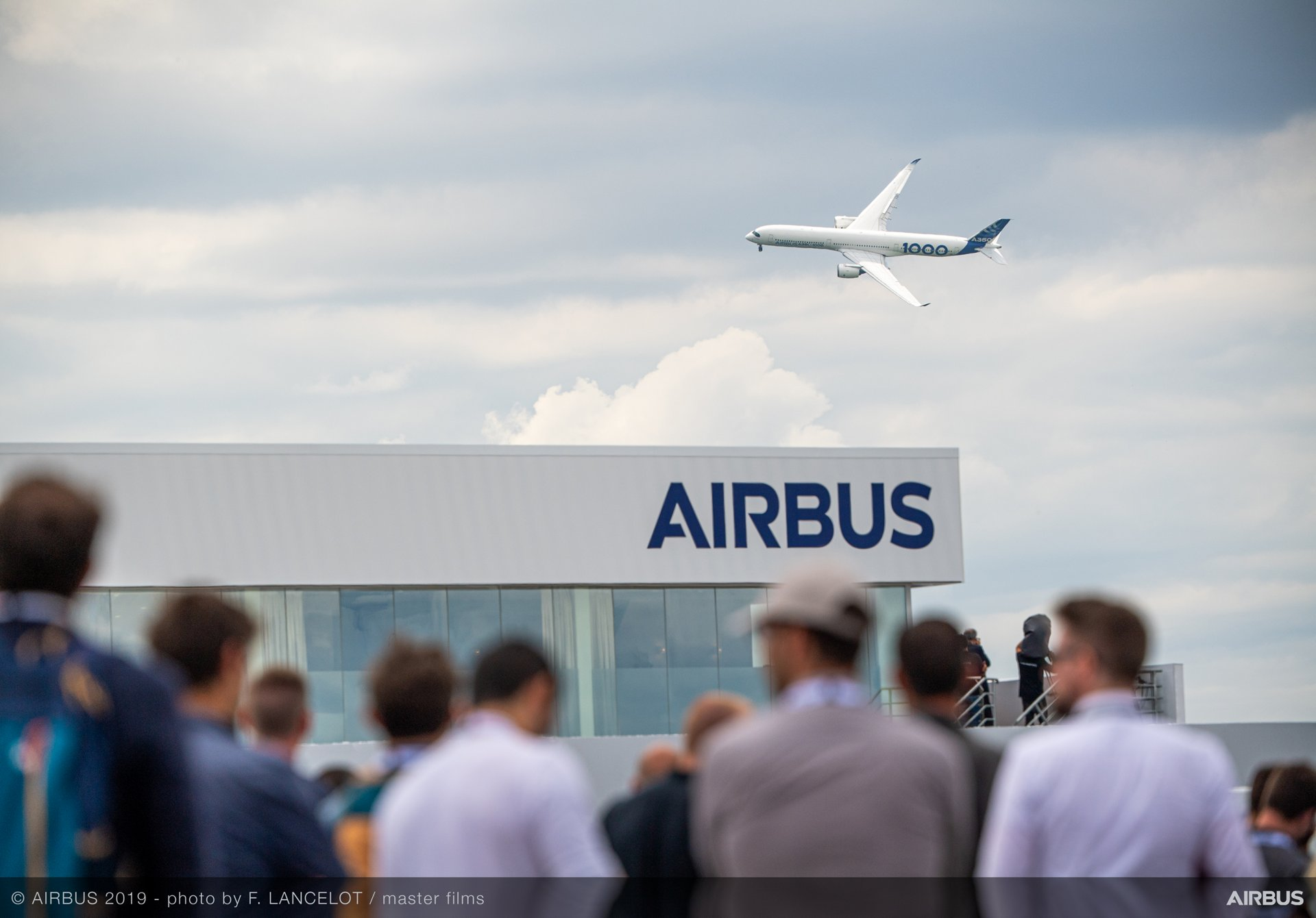 A350-1000 Flying Display at Paris airshow 2019 Day 4