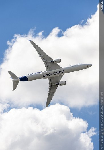 A350-1000 AG真人计划 Flying Display at Paris Airshow - PAS2019 Day 1