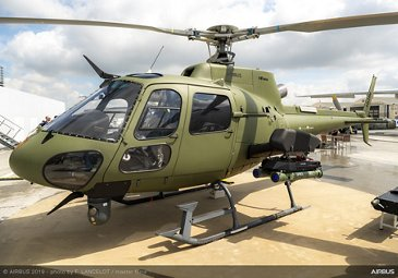 Airbus H125M static display at Paris Airshow 2019 - Day 4