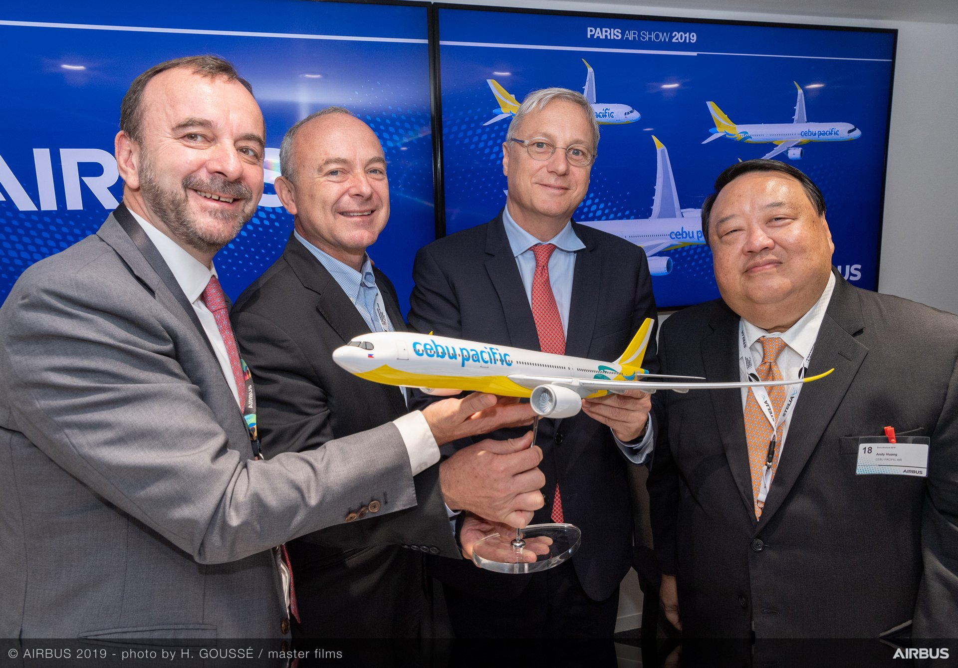 Cebu Pacific Memorandum of Understanding – Paris Air Show 2019 – Day 2