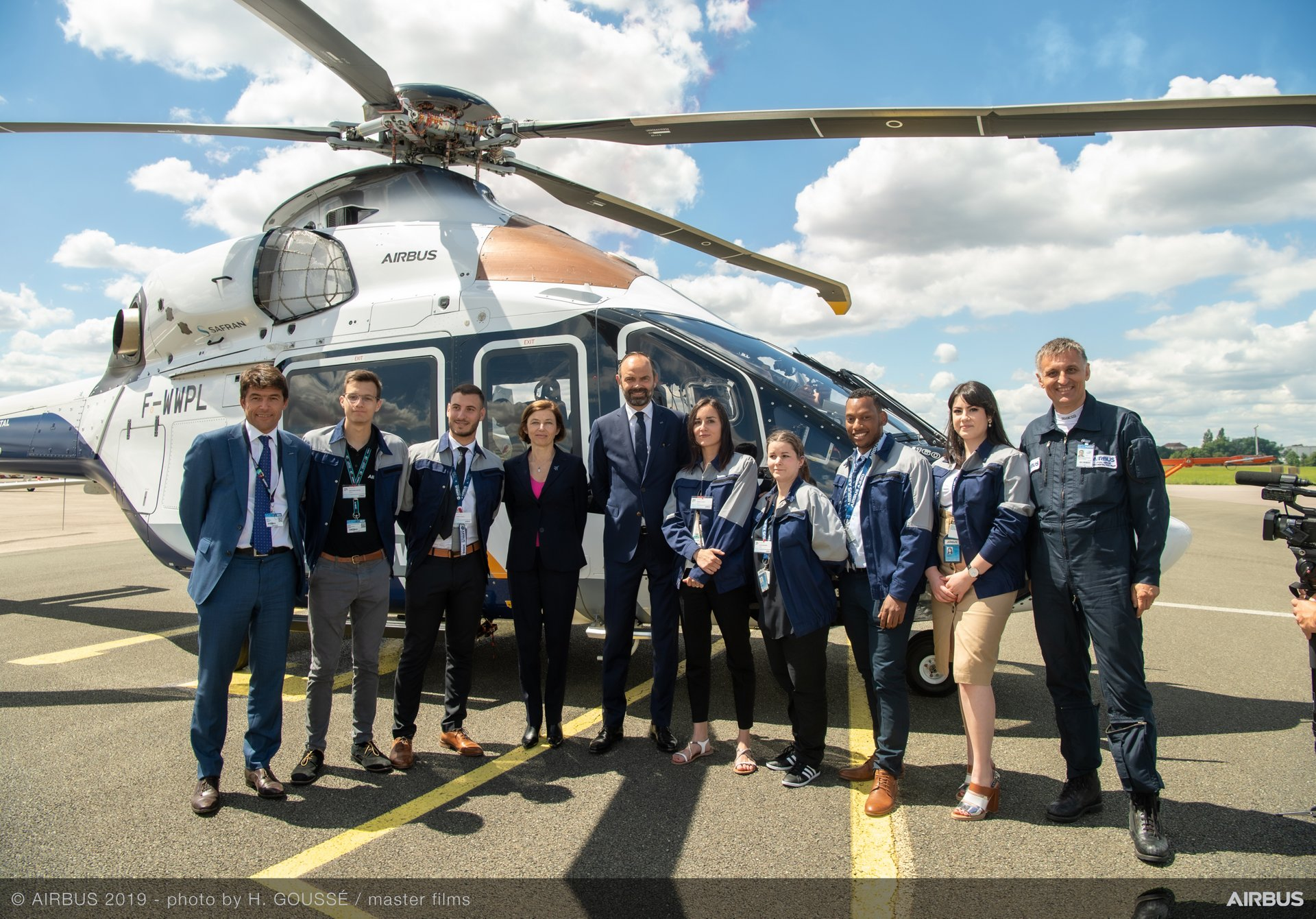 Edouard Philippe French Prime Minister Visit at Paris Air Show Day 5