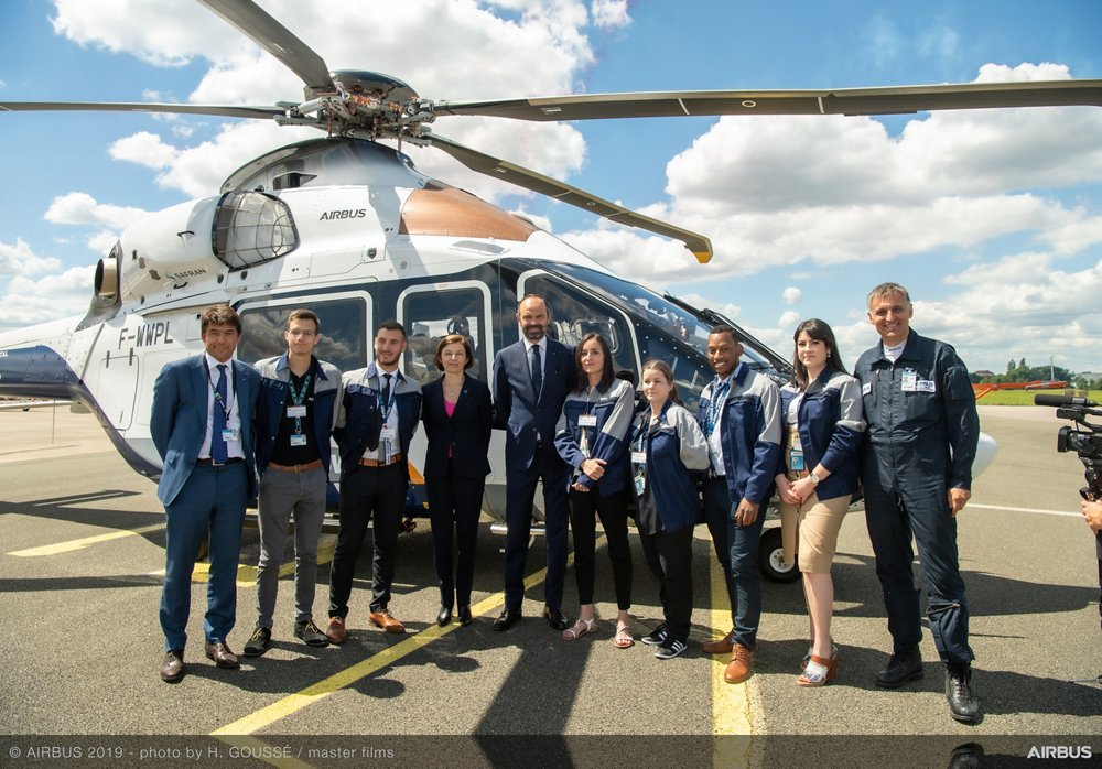 Edouard Philippe French Prime Minister Visit Paris Airshow 2019 - Day 5