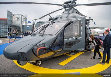 H160M Airbus demonstrator at Paris Air Show 2019 - Day 3