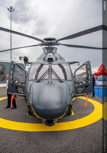 H160M Airbus demonstrator front view at Paris Airshow 2019 - Day 3