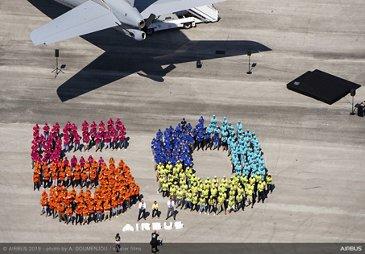 Airbus 50th Anniversary Group - Paris Airshow 2019