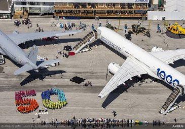 Airbus celebrates 50 years – Paris Air Show 2019