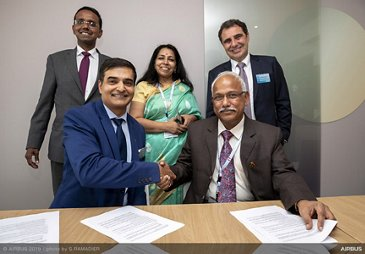 Airbus Helicopters and Pawan Hans Limited sign MoU for introduction of H145 and H225 and support for AS365N Dauphin fleet